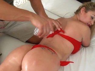 Lusty Rafaella Gives Head To Roge Ferro