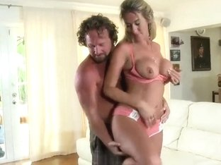 A Lush Blonde Teen Is Fucked By A Gross Guy