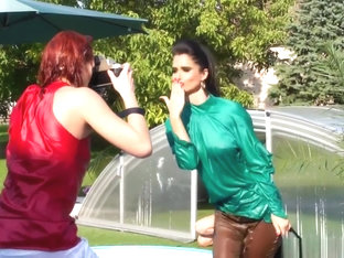 Wetlook Photoshoot Messes Up