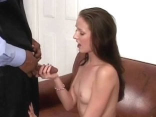 Sexy Young Slut On A Hard Black Cock