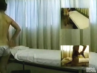 Massaging One Petite Asian Babe
