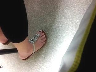 Candid Sams Feet