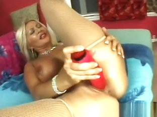 Voluptuous Blonde Cougar Moans At The End Of A Hard Young Cock