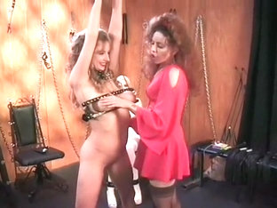 Dirty Young Slut Gets Properly Punished In A Sexy Bondage Dungeon