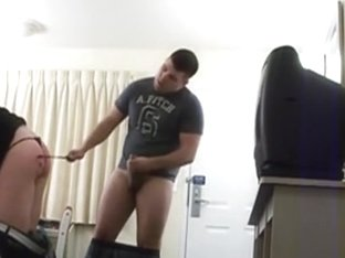 Spanking And Pounding Her Butt