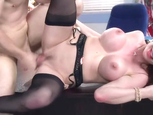 His Secretary Does Such A Good Job He Fucks Right On Her