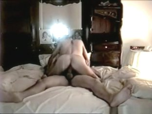 Mature Blonde With Hairy Pussy Bedroom Sextape