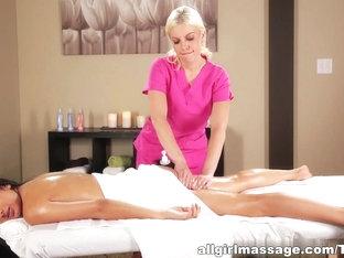 Horny Pornstar Megan Salinas In Exotic Massage, Lesbian XXX Movie