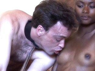 Blackgirlswhiteslaves: Boob For Slave