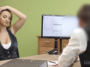 Loan4k. Suzie Sun Takes Blouse Off And Gives Titjob To Loan Manager