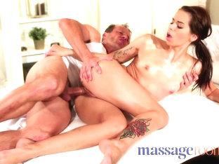 Best Pornstar In Incredible College, Massage XXX Scene