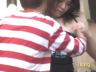 Glorious Young Asian Princess Loses Her Top During Quick Sharking Encounter