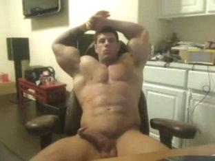 Jizzy wanking for solo gay