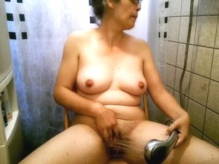 Dutch Alexandra Showering And Playing With Her Monsterclit