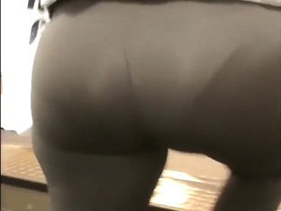 A Day Out With The Wife In See Through Leggings ( Part 5)