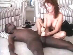 Sweet Mature Amateur Housewife Interracial Cuckold Handjob