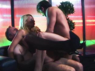 Crazy Pornstars Gabriela Glazer And Nataly D'angelo In Best Dp, Lingerie Sex Movie