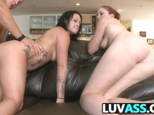 Ass Babes Audrinna Levine And Ivy Rider