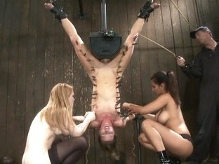 Ariel X Is Trapped In An Inverted Sybian And Cummingno Hope For Escape - Only Screaming.