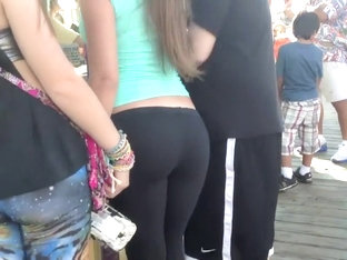 Some Guy Wanted To Grope Her Ass