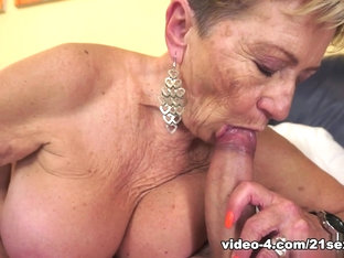 Horny Pornstars In Hottest Grannies Porn Movie