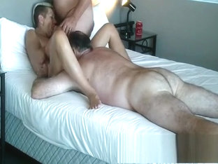 Spanish Amateur Granny In A Threesome