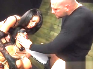 Handcuffed Bitch Gets Totally Manhandled In Rough Sex Scene