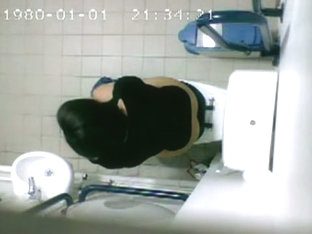 The Piss Cam Records Babe On Toilet Bowl From Above