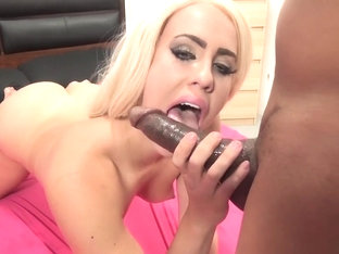 Crazy Pornstar Brooke Summers In Best Interracial, Blonde XXX Scene