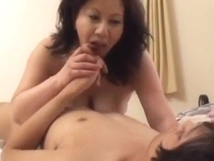 Mature Japanese Women Having Tries For Young Cock