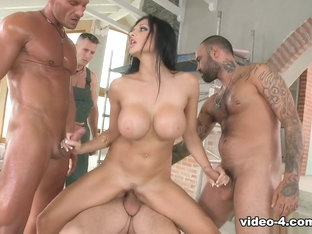 Fabulous Pornstars Aletta Ocean, David Perry, Csoky Ice In Exotic Cumshots, Interracial XXX Movie