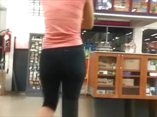 Hot Booty In Sports Pants