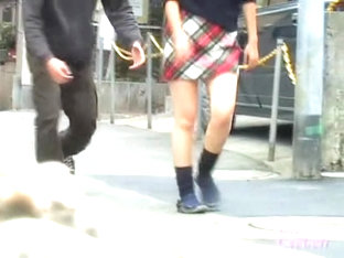 Teenage Japanese Darling Is Having Sharking Meeting With Handy Fellow