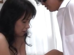 Japanese Av Model Hot Mature Asian Housewife Gives Blowjob