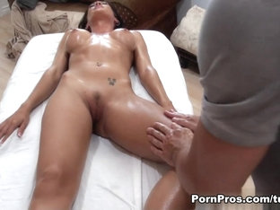 Amazing Pornstar Capri Cavanni In Hottest Massage, Brunette Porn Movie