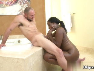 Horny Pornstar Black Belladonna In Incredible Facial, Black And Ebony Adult Clip