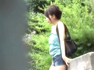 Alluring Oriental Angel Receives Wicked Sharing Attack On The Street