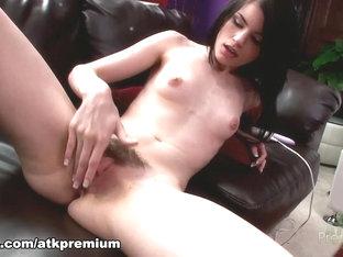 Exotic Pornstar Heather Night In Fabulous Solo Girl, Brunette Adult Clip