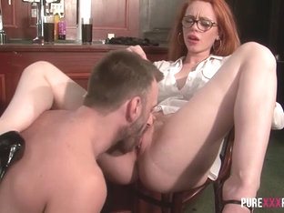 Ella Hughes In Ella Hugues Is A Redhead Who Loves Cock - Purexxxfilms