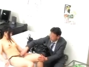Kaoru Is Humped Very Hard By A Huge Hammer In Japanese Movie