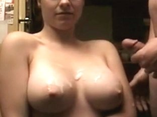 Delicious Busty Wife Gets Facials