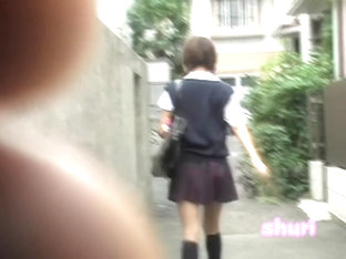 Tight Marvelous Schoolgirl Gets Involved In Really Awesome Sharking Scene