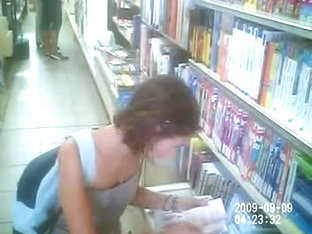 Voyeur Sexy Young Lady Teen (librery)