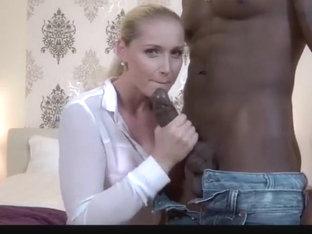 Interracial Cuckold With Blonde