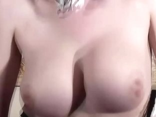 Cosplay Bondage Pink Hair Maid