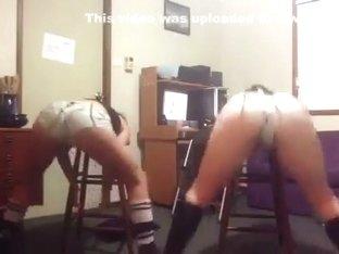 Most Excellent Twerking Web Camera Teenager Clip