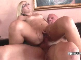 Tiny Blonde Tabitha James Gets Her Tight Twat Fucked Hard