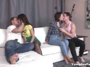 Young Sex Parties - Angie Moon - Liona Bee - Teens Fucking And Swinging