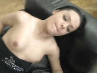 Horny Brunette Crazy For Peckers Does Blowjob To Rocco