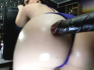 Grinding My Oily Hips And Butt On Dildo Sexy/sensual,extreme Close Up